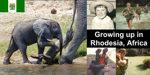 Growing up in Rhodesia, Africa