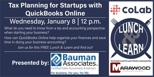 Tax Planning with QuickBooks Online- CoLab Lunch & Learn
