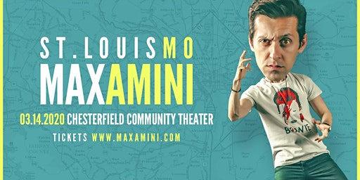 Max Amini Live in St. Louis - 2020 World Tour