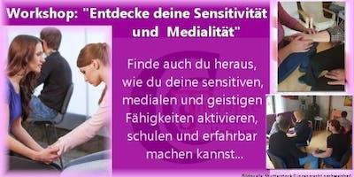 Entdecke und vertiefe deine Medialität und Sensitivität