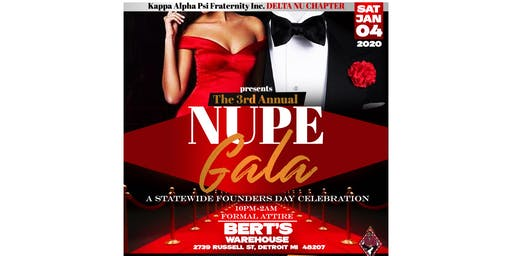3rd Annual Nupe Gala
