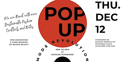 12 MODE Pop-Up - The Fashion Revolution