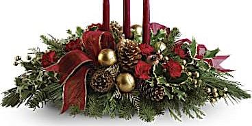 Floral Design Class - Festive Holiday Centerpiece