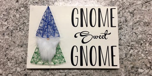 Gnome Sweet Gnome String Art Workshop