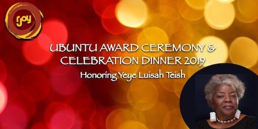 RJOY's Annual UBUNTU Awards Ceremony and Dinner Celebration