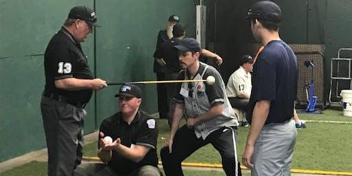 District 4 Little League Umpire Mechanics Clinic - Plate Mechanics Section 2/1/2020