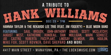 Hank Williams Tribute Benefitting The Women's Law Project tickets