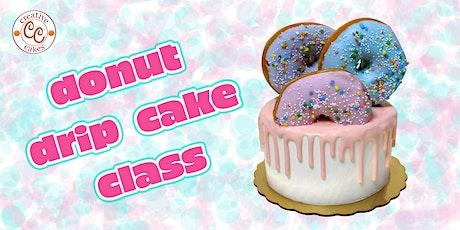 Donut Drip Cake Class - Parent & Child tickets