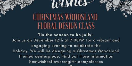 Woodsland Floral Design Class