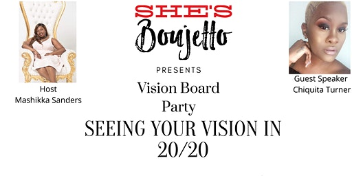 VIsion Board Party... Seeing Your Vision in 20/20