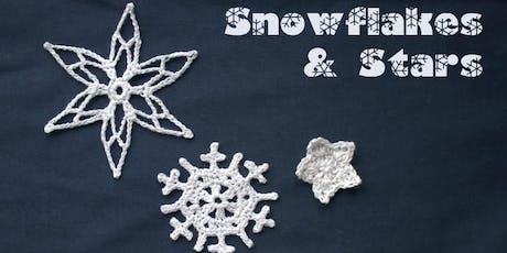 Crochet Snowflakes & Stars - with Designer Leonie Morgan tickets