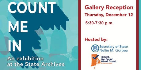 Count Me In! Gallery Reception tickets