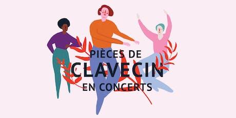 Pièces de clavecin en concert billets