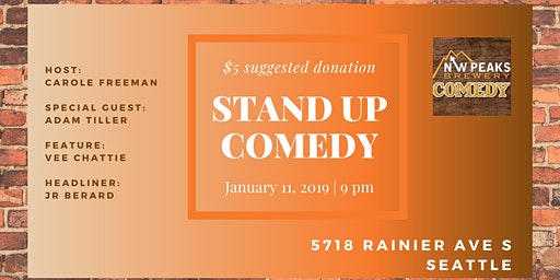 Stand Up Comedy Show: January 11th