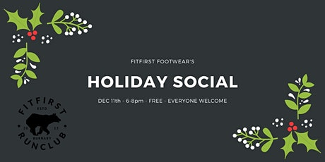 FitFirst Run Club's Holiday Social tickets