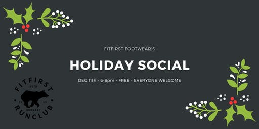 FitFirst Run Club's Holiday Social