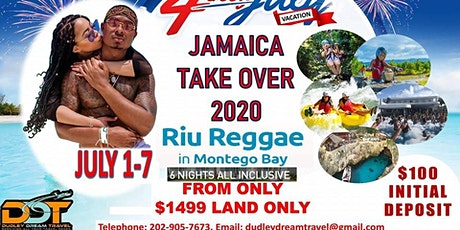 DDT JAMAICA TAKEOVER 2020 - JOIN US tickets