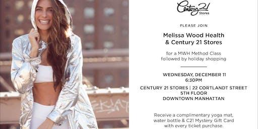 Melissa Wood Health & Century 21 Stores MWH Method + Holiday Shopping