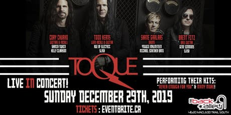 TOQUE Live In Concert - The Back Alley (Calgary) tickets