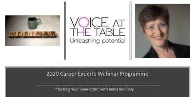WEBINAR: Tackling your inner critic! From Imposter Syndrome to the Fear of Failure