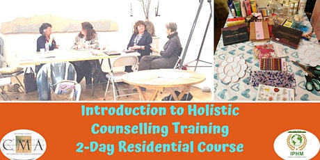 Introduction to Holistic Counselling Training - 2 Day Residential Course tickets
