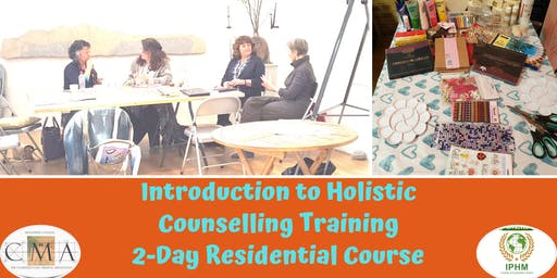 Introduction to Holistic Counselling Training - 2 Day Residential Course