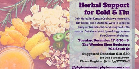 Herbal Support for Cold & Flu Season tickets
