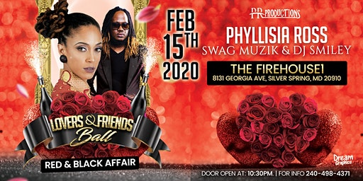 LOVERS  & FRIENDS BALL: PHYLLISIA ROSS, SWAG MUSIZ