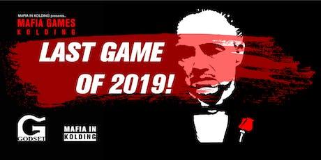 LAST MAFIA GAMES 2019! tickets