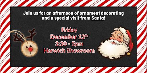 Ornament Decorating with Santa!