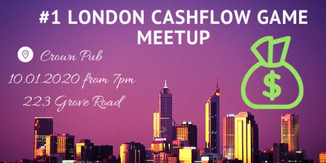 London CashFlow Game Meetup tickets