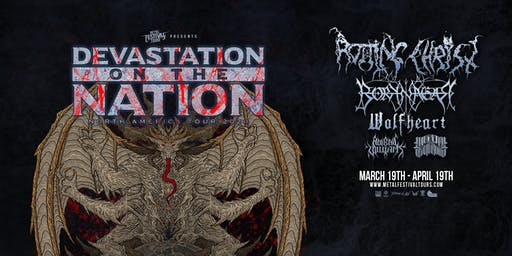 Devastation On The Nation featuring Rotting Christ & More