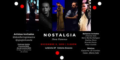 Nostalgia Show Flamenco en CDMX