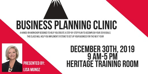 Business Planning Clinic with Lisa Munoz