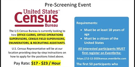 2020 Census Recruitment