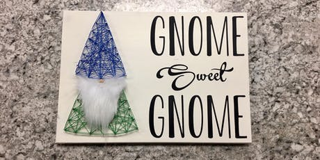 Gnome Sweet Gnome String Art Workshop tickets
