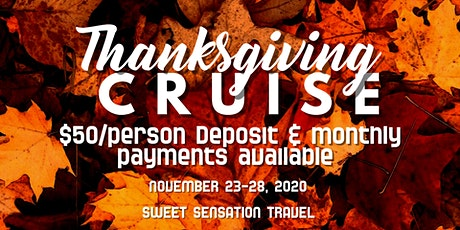 Thanksgiving Cruise 2020 tickets