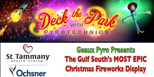 Deck the Park with Pyrotechnics 2019