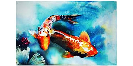 Beginners' Art Class - Learn To Draw and Paint ... Fish tickets