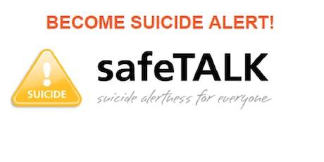 safeTALK- Suicide Alertness Training tickets
