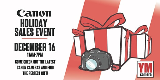 Canon Holiday Sales Event