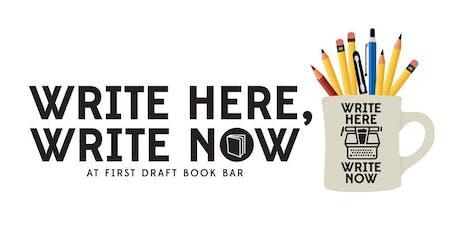 "Write Here, Write Now | Suyi Okungbowa: ""Three Ways To Think About Plot"" tickets"