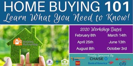Housing Partnership Homebuyer Education Class 2020 tickets
