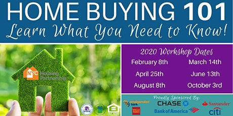 Housing Partnership Homebuyer Education Class 2020 tickets