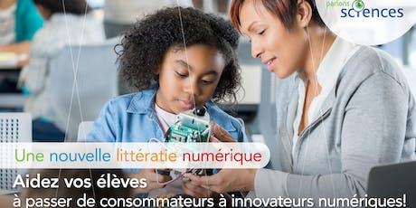 Une nouvelle littératie numérique pour les enseignants(es) billets
