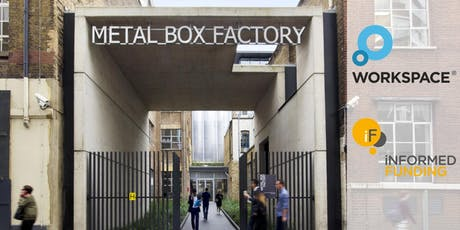Informed Funding (One Hour) Consultations at Metal Box - 10 March tickets