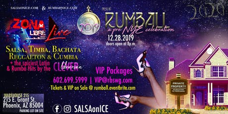 RUMBALL: Pre NYE Celebration with Zona Libre LIVE SALSA & More tickets