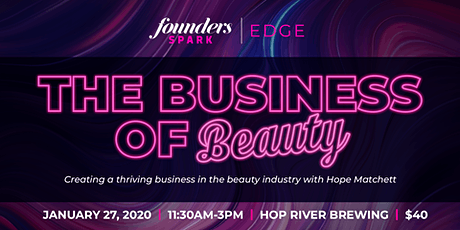 EDGE | The Business of Beauty tickets