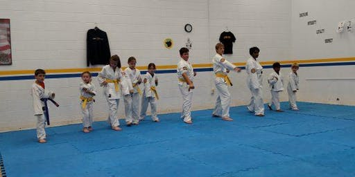 Cannon Karate beginners class