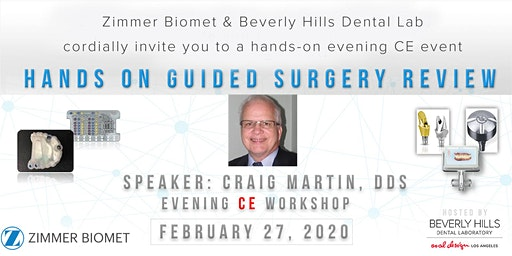 Hands-On Guided Surgery Review (Evening CE Workshop)